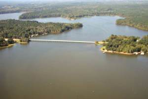 Aerial View - Toledo Bend Lake - Highway 3121