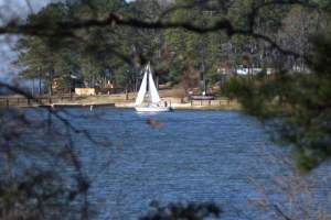 Sailing Toledo Bend Lake