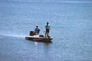 Fishing on Toledo Bend Lake