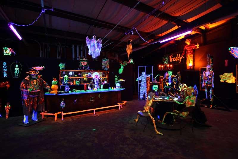 Fright Night Black Light Halloween Party Toledo Bend Com