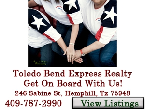 toledo bend express realty