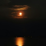 Moon Over Toledo Bend Lake