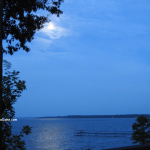 Moon over Toledo Bend