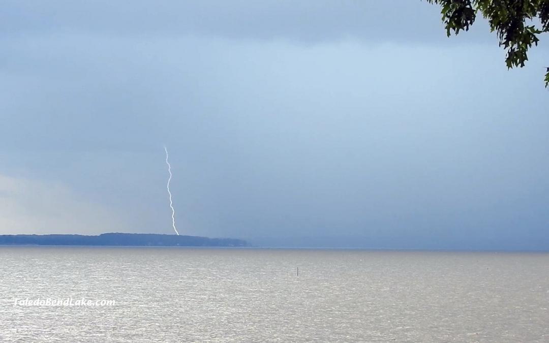 Lightning on the Bend