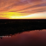 Aerial of Sunset